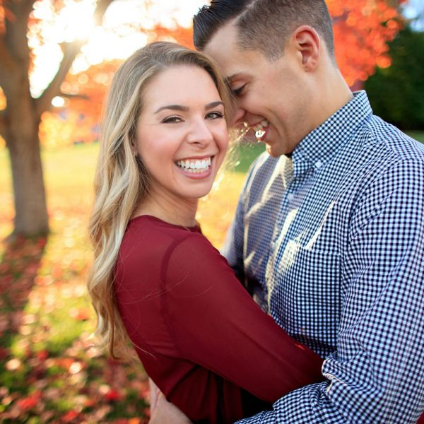 Kristina & Matt's Fall Engagement Photos