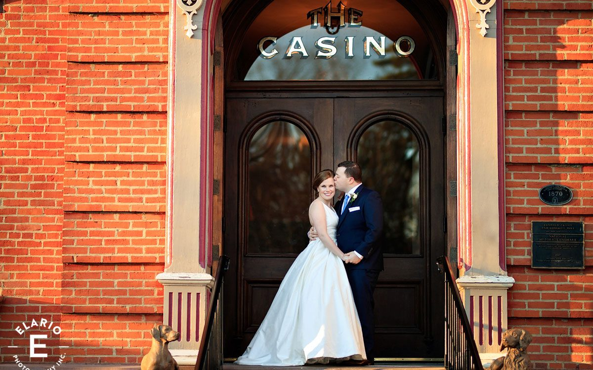 Andrea & Brad's Canfield Casino Wedding Photos
