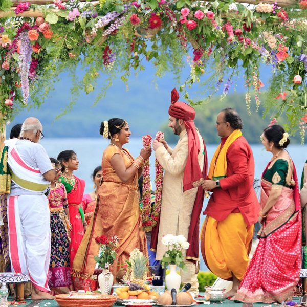Rekha & Alap's Lake George Wedding Photos