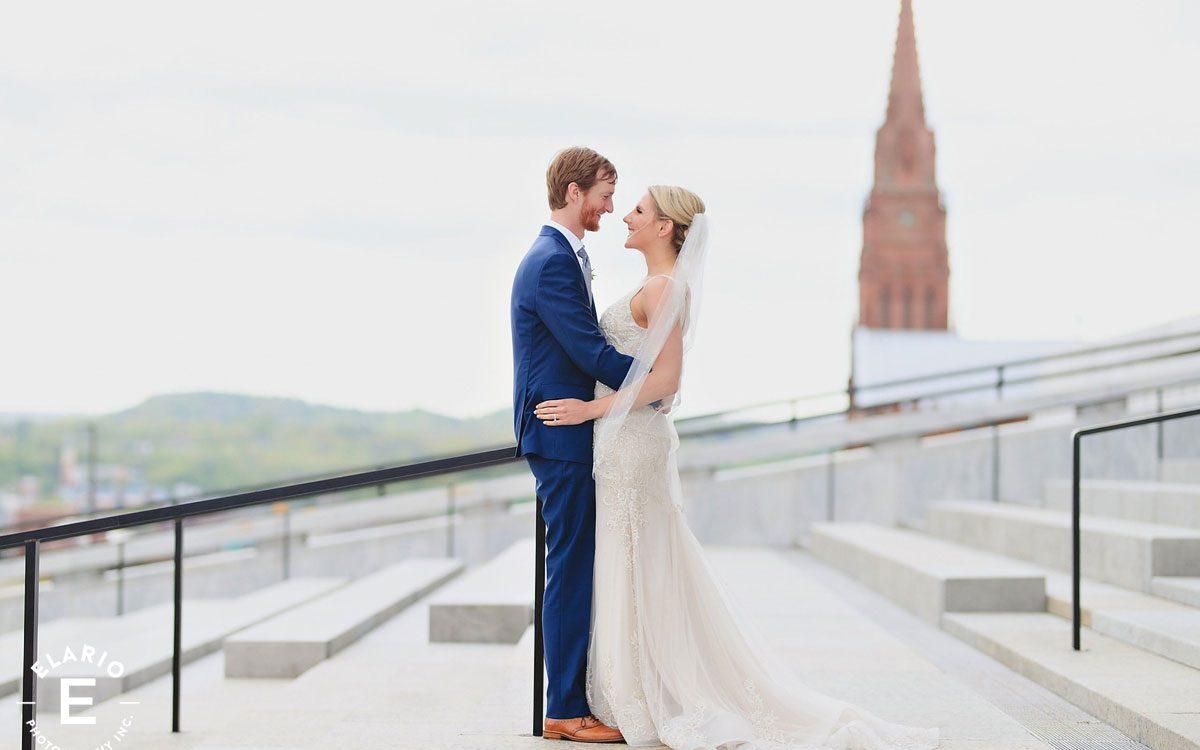 Laura & Greg's New York State Museum Wedding Photos
