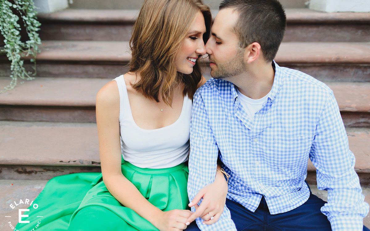 Christina & Dan's Troy Engagement Photos