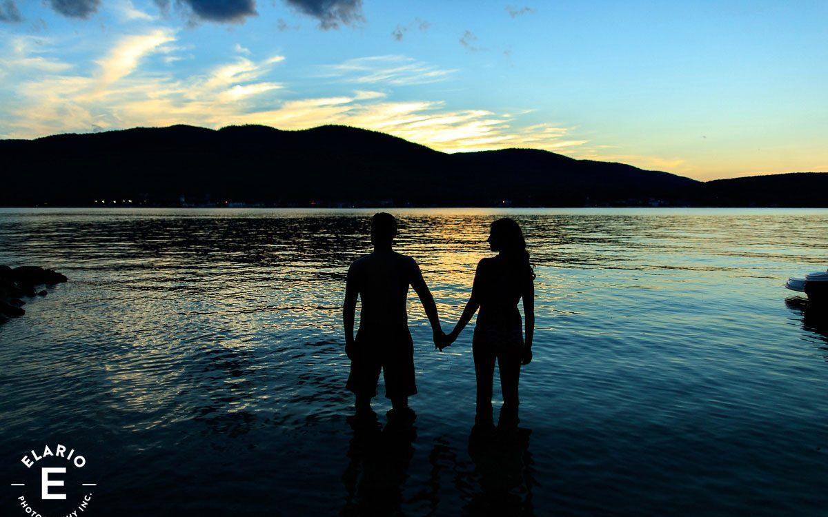 Kelsey & Ross' Lake George Engagement Photos