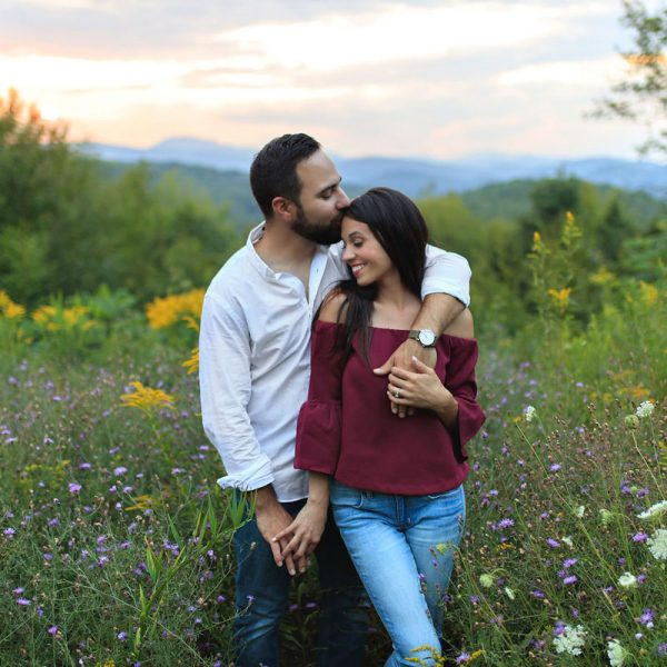 Alexis & John's Lake George Engagement Photos