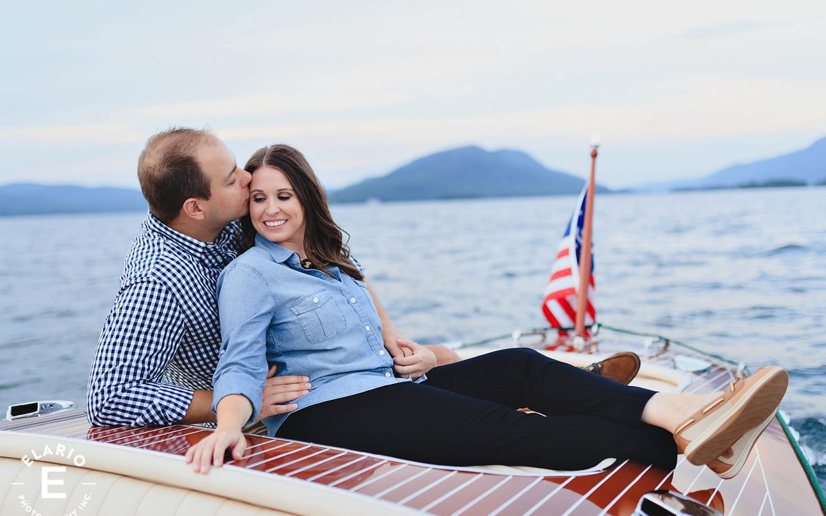Emily & John's Lake George Engagement Photos
