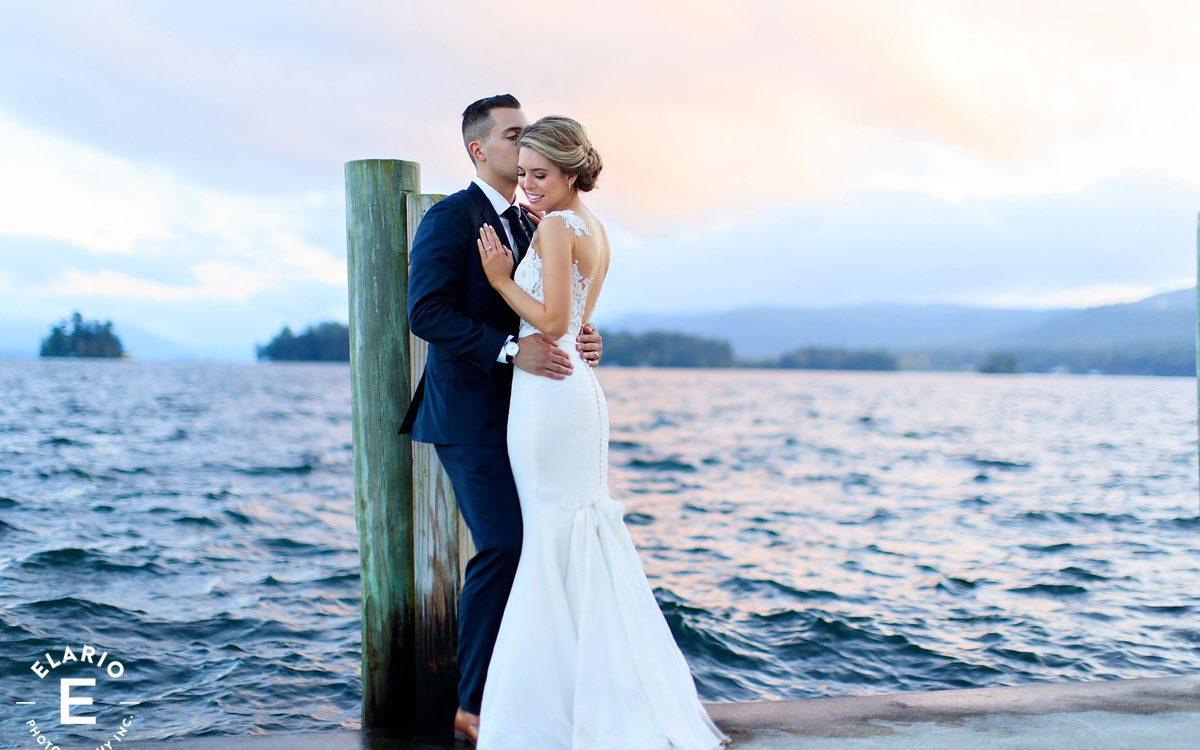 Kristina & Matt's Lake George Wedding Photos