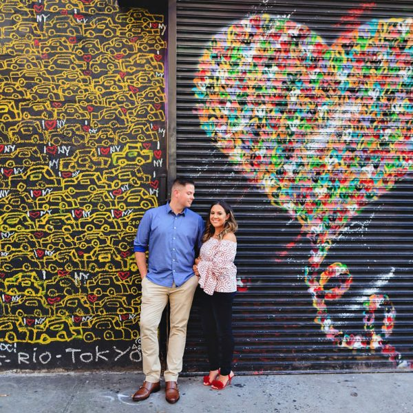 Nicole & Rob's NYC Engagement Photos