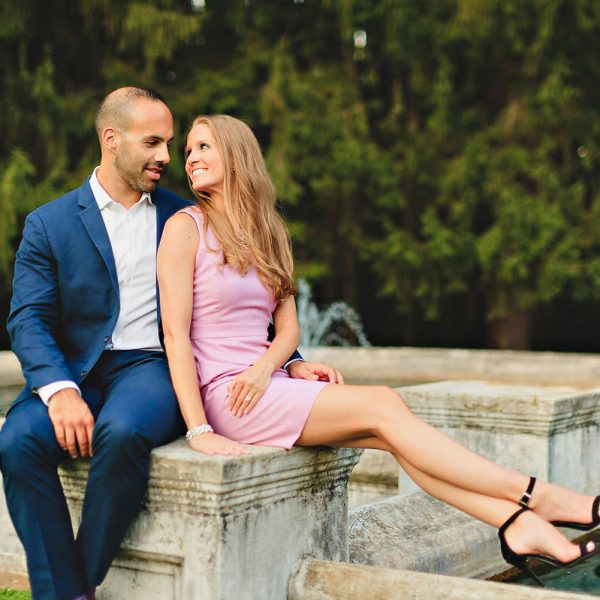Christina & Bill's Saratoga Engagement Photos