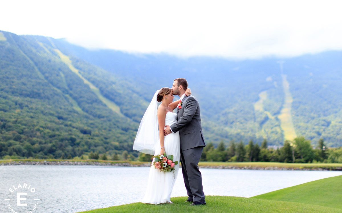 Emily & Jack's Stowe Mountain Wedding Photos
