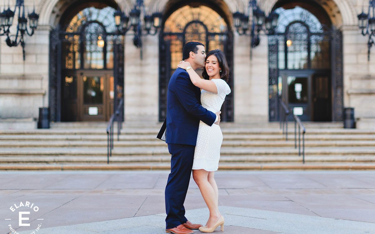Kathleen & Nate's Boston Engagement Photos