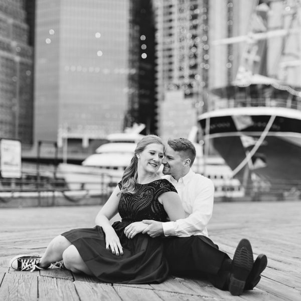 Laura & Mark's New York City Engagement Photos
