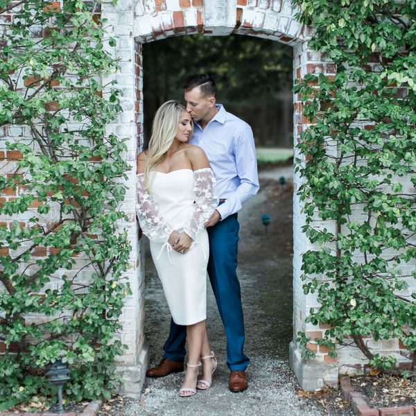 Courteny & Griffin's Engagement Photos at The Mount