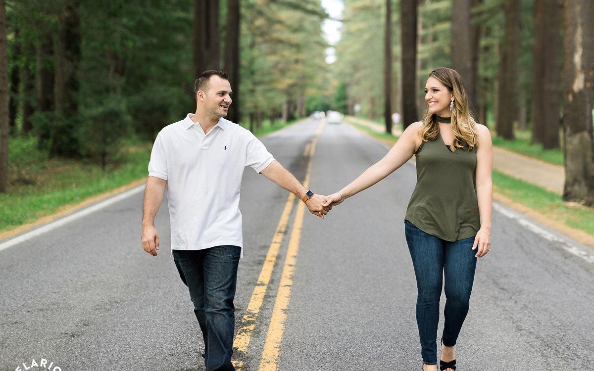 Rosa & Nick's Saratoga Engagement Photos