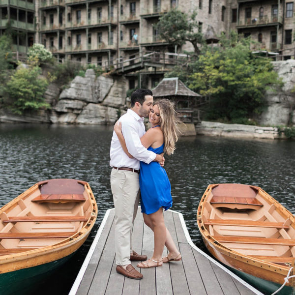 Casey & Mike's Mohonk Mountain House Engagement Photos