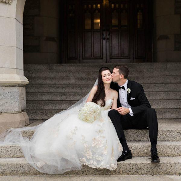 Emily & Chris' Troy Country Club Wedding Photos