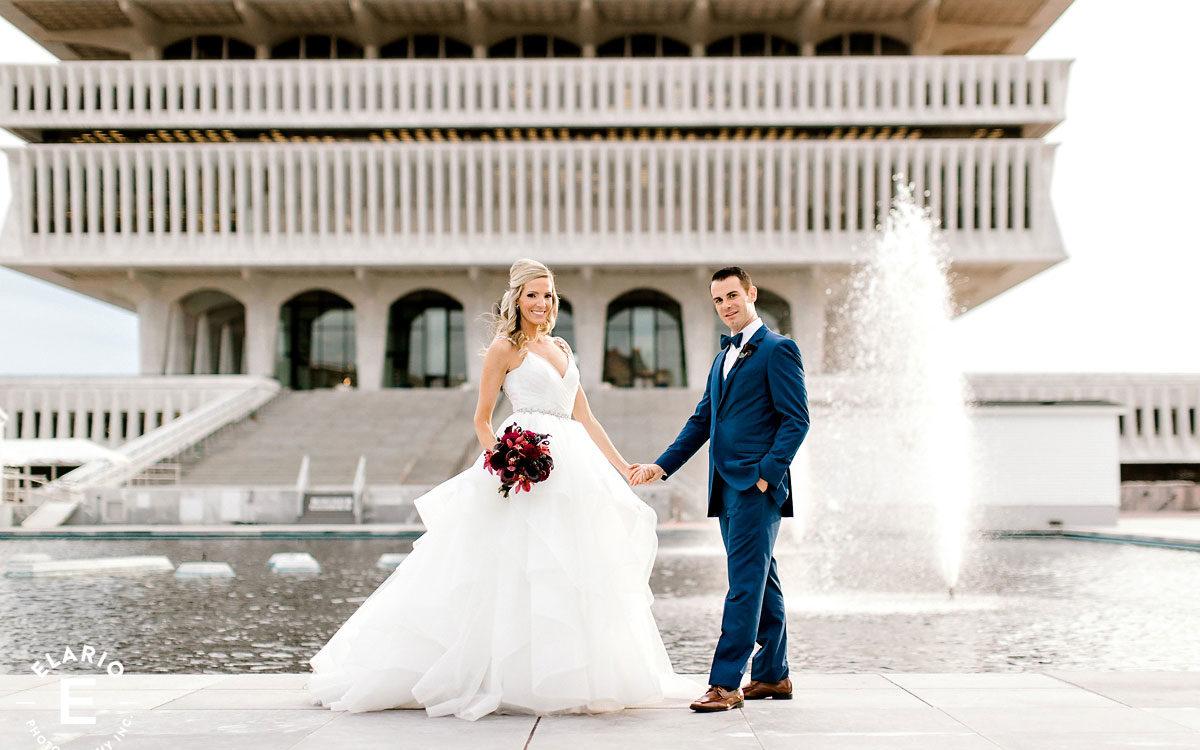 Genevieve & John's Albany Wedding Photos