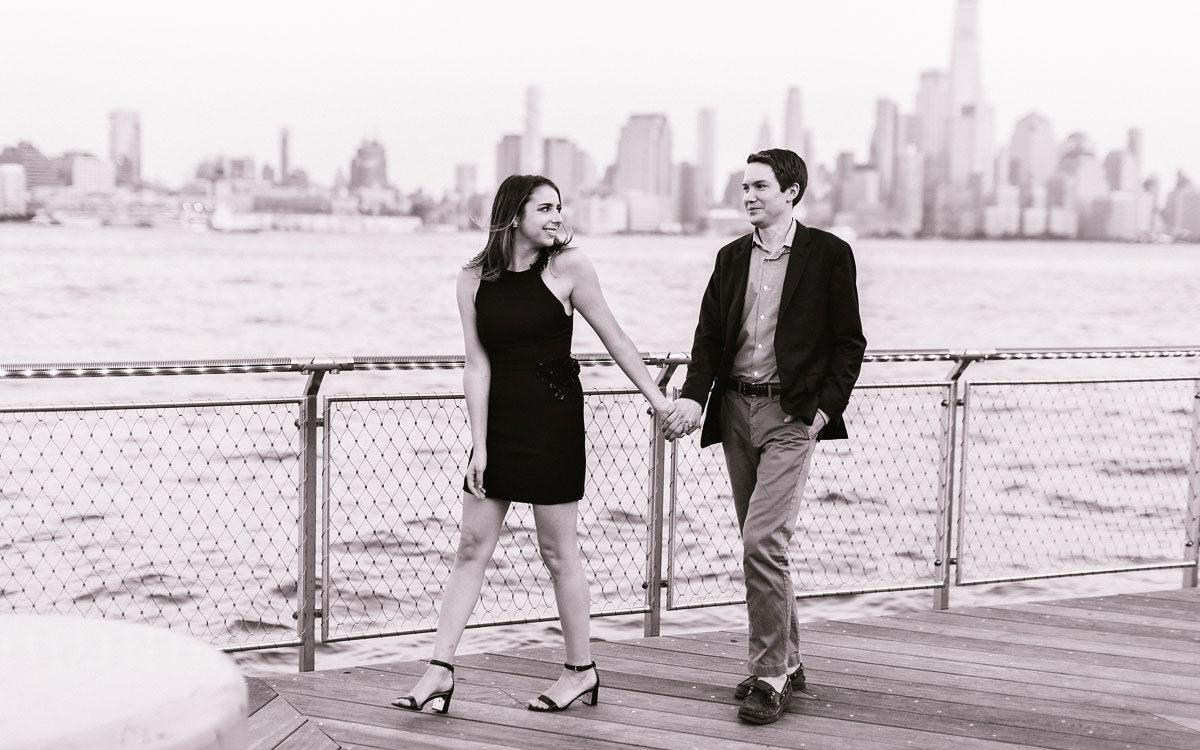 Cassie & Sam's Hoboken Engagement Session
