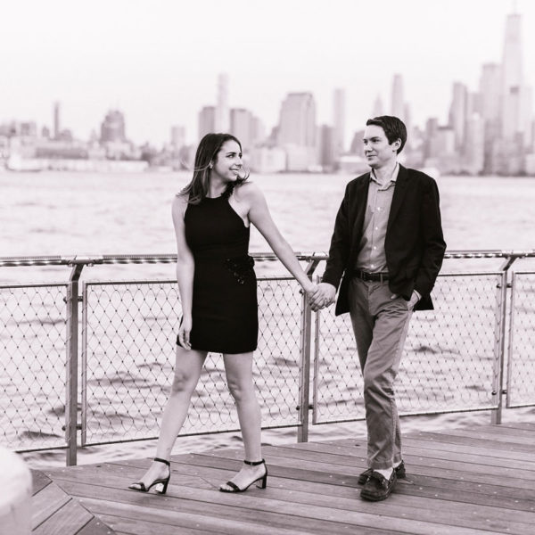 Cassie & Sam's Hoboken Engagement Session
