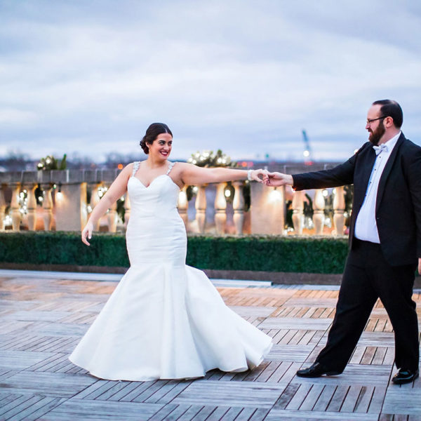 Danielle & Mike's Franklin Plaza Wedding Photos